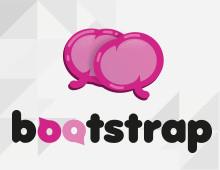 Bootstrap – logo i plakat