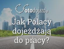 Dojazdy Polaków do pracy – infografika